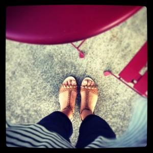Studded Mui Mui Sandals