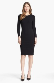 Vince Stretch crepe knit dress