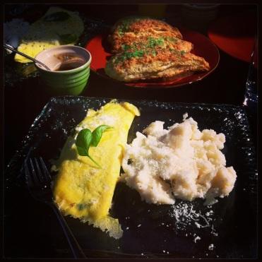 Fancy breakfast a chez Nell