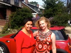Women wear red