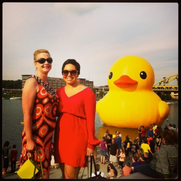 With the DUCK!