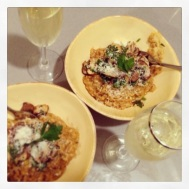 Risotto at home with Nell & Jay