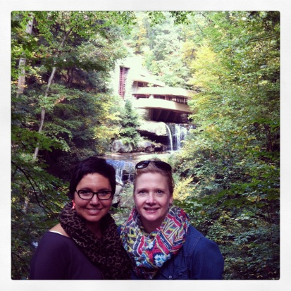 With the VIEW at Fallingwater