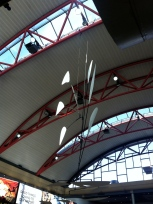 A Calder sculpture at the airport in Pittsburgh
