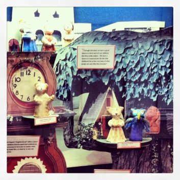 Mister Roger's display