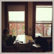 A view from Mariko's apartment