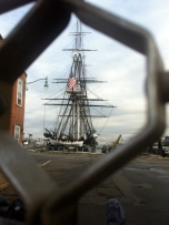 This is as close as I got to the USS Constitution thanks to the Gov't shutdown
