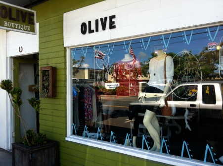 Our shopping adventure at Olive Boutique
