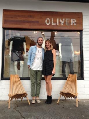 Parker's shop Oliver
