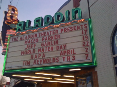 The Aladdin Theater
