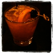 Tamarind Sour at Whiskey Soda Lounge