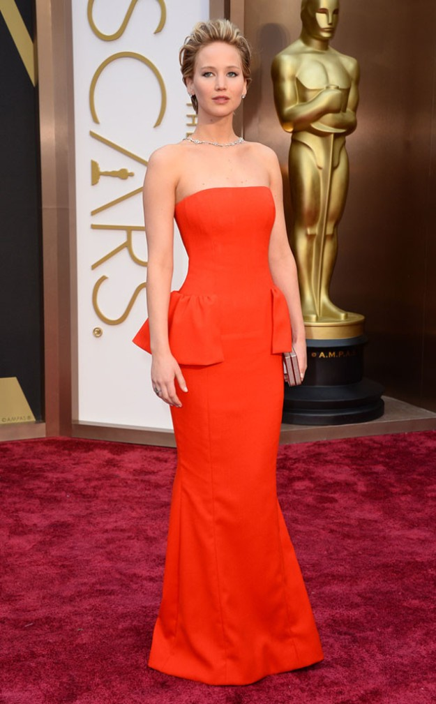Jennifer Lawrence. In what else but Dior!