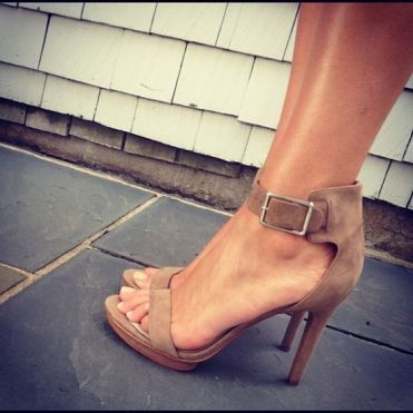 nude strappy