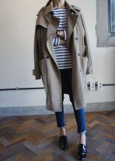 trench over the shoulders